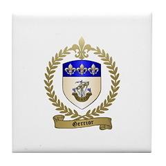 GERRIOR Family Crest Tile Coaster