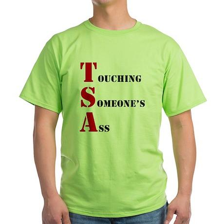 tsa004 Green T-Shirt