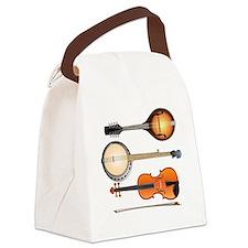 AMTVCafePressMandoBanjoViolin Canvas Lunch Bag