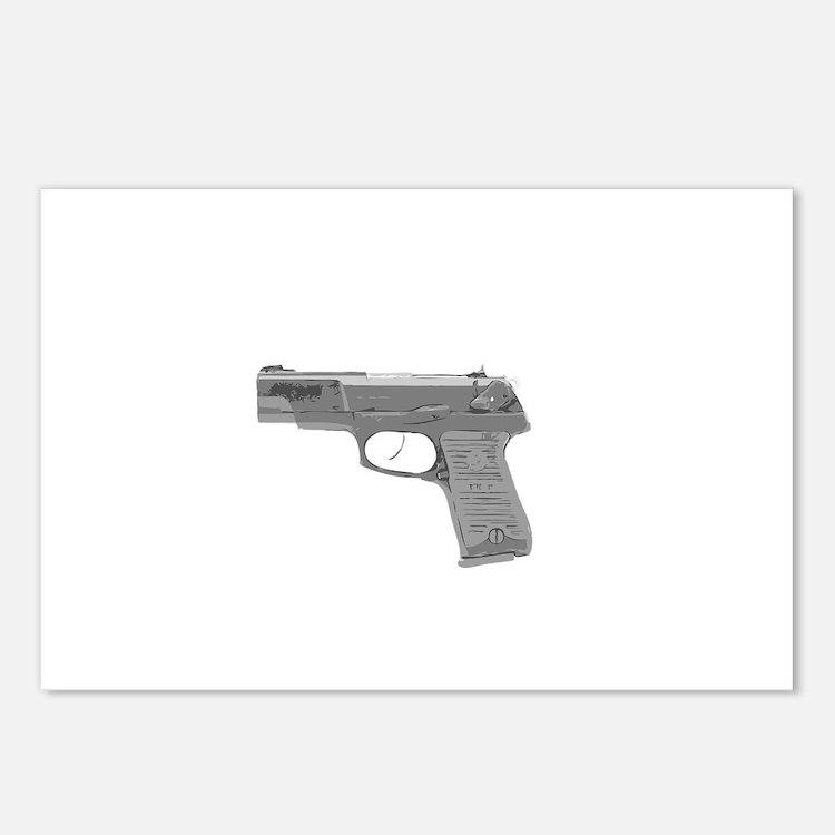 SHIRT-Guns Dont Kill Peop Postcards (Package of 8)