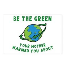 Be Green Postcards (Package of 8)