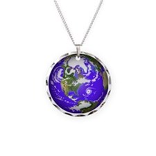 0planet_earth Necklace