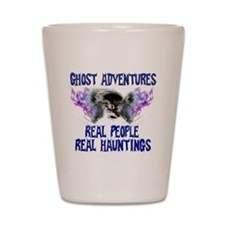 Ghost Adventures BlueT-Shirt Shot Glass