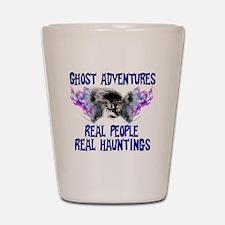 Ghost Adventures BlueT-Shirt Shot Glass