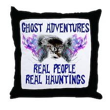 Ghost Adventures BlueT-Shirt Throw Pillow