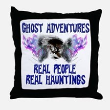 Ghost Adventures BlueT-Shirt Throw Pillow