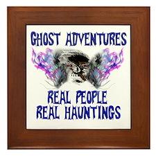 Ghost Adventures BlueT-Shirt Framed Tile