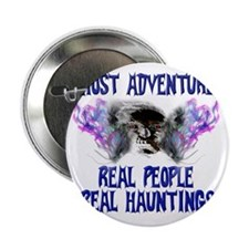 """Ghost Adventures BlueT-Shirt 2.25"""" Button"""