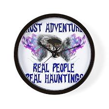 Ghost Adventures BlueT-Shirt Wall Clock