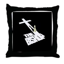 BISHOPBIG Throw Pillow
