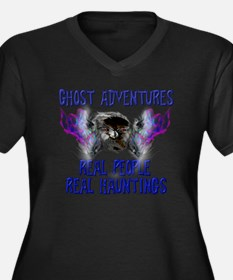 Ghost Advent Women's Plus Size Dark V-Neck T-Shirt