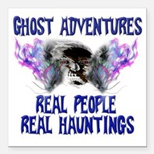 "Ghost Adventures BlueT-S Square Car Magnet 3"" x 3"""
