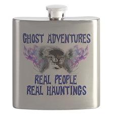 Ghost Adventures BlueT-Shirt Flask