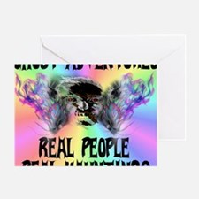 Ghost Adventures Pastel T-Shirt Greeting Card