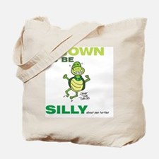 SILLY SEA TURTLE Tote Bag