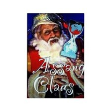assange clause cafepress2 Rectangle Magnet