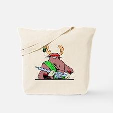 Combat Moose Tote Bag
