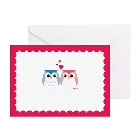 MiNiOwL Happy Love Cards (Pk of 10)