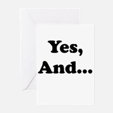 Yes, And... Greeting Cards
