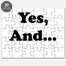 Yes, And... Puzzle