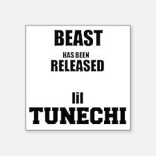 """BeastTunechi Square Sticker 3"""" x 3"""""""