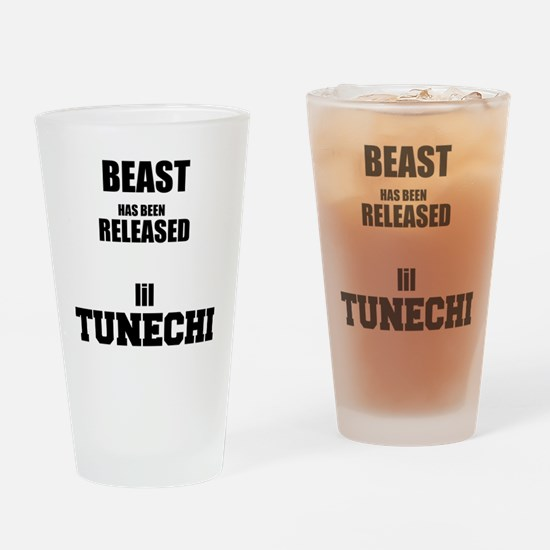 BeastTunechi Drinking Glass