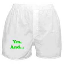 Yes, And... Boxer Shorts