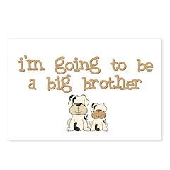 big brother puppy dog pregnancy postcard (8)
