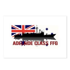 Adelaide Class FFG Postcards (Package of 8)