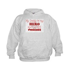My Daddy is my HERO and i'm h Hoodie