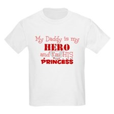My Daddy is my HERO and i'm h Kids T-Shirt
