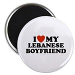 I Love My Lebanese Boyfriend Magnet