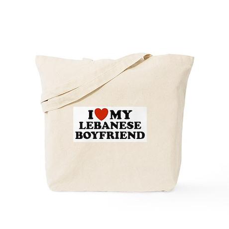 I Love My Lebanese Boyfriend Tote Bag
