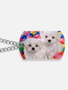 bishonFB greeting Dog Tags