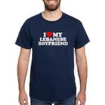 I Love My Lebanese Boyfriend Dark T-Shirt