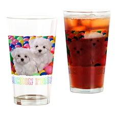 bishonFB shirt Drinking Glass