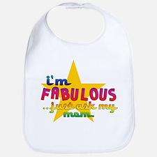 I'm Fabulous Star Bib