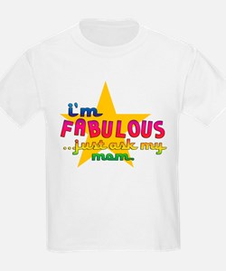 I'm Fabulous Star Kids T-Shirt