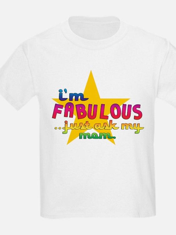 I'm Fabulous Star Kids T-Shirt