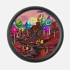 Candyland Large Wall Clock