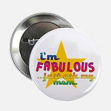 I'm Fabulous Star Button