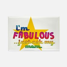 I'm Fabulous Star Rectangle Magnet