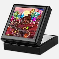 Candyland Keepsake Box