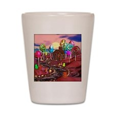Candyland Shot Glass