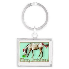Tayos Christmas Package Landscape Keychain