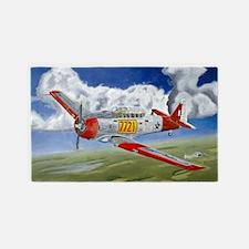 T-6 Texan - Long - Mini Poster 3'x5' Area Rug