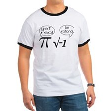 Get Real, Be Rational Math Humor T