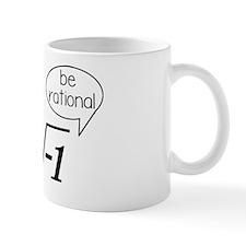 Get Real, Be Rational Math Humor Mug