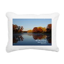 Be Still 2 Rectangular Canvas Pillow