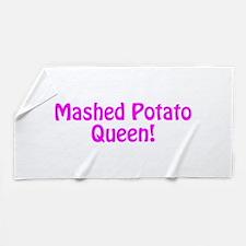 Mashed Potato Queen Beach Towel